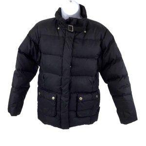 London Fog Down Women's Puffer Black Coat M(10-12)